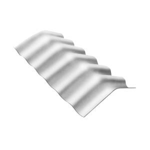 Telha Fibrocimento Cumeeira 10° 1,10mx0,30mx6mm  Confibra