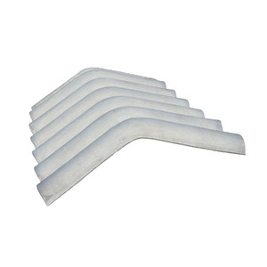 Telha Fibrocimento Cumeeira 15° 0,92mx0,30mx6mm Confibra