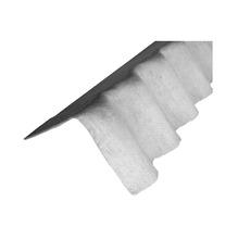 Telha de Fibrocimento Cumeeira Shed Esquerdo 110x30cm Infibra