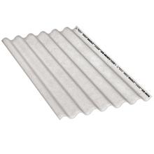 Telha Fibrocimento Ondulada Cinza 6mm 1,83x1,10m Brasilit