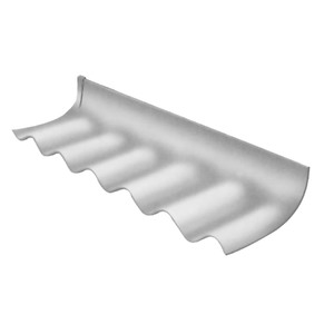 Telha Fibrocimento Rufo Direito 1,10mx0,30mx6mm Confibra