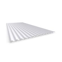 Telha Translúcida de Polipropileno Ondulada Baixa Leitosa 0,50x2,13m Ibrap