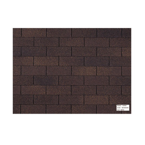 Telha shingle ar oc chocolate pacote com 3 1m lp brasil - Shingle leroy merlin ...