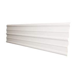 Telha TopSteel Trapezoidal Branco 5m Brasilit