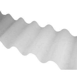 Telha Translúcida Ondulada Polipropileno 183x110cmx1,2mm Atco