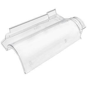 Telha transparente policarbonato americana 43x23cmx2mm - Tegola americana leroy merlin ...