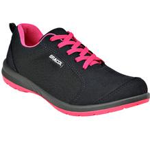Tênis de Segurança Ultralev Feminino de Arrarrar na cor preto pink, sem  Biqueira e 0ba9620567