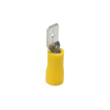 Terminal Isolado Macho 4.0x6.0mm Amarelo Voltaggio