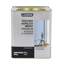 Textura Acrílica Média Premium Branca Luxens 24Kg