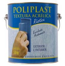 Textura Fosco Riscado Premium 5,8kg Branca Poliplast
