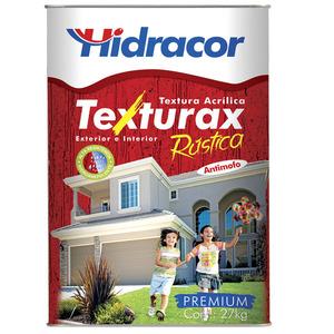 Textura Texturax Rústica Geranio 27kg Hidracor