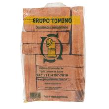 Tijolo Comum de Barro 4,3x9,1x18cm 10 Unidades Grupo Tomino