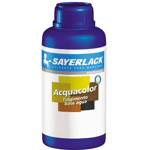 Tingidor para Madeira Sayerlack Acquacolor Fosco Preto 500ml