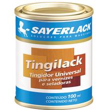 Tingidor para Madeira Sayerlack Tingilack Fosco Cedro 100ml