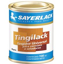 Tingidor para Madeira Sayerlack Tingilack Fosco Mogno 100ml