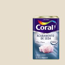 Tinta Acrílica Acetinada Acabamento de Seda Premium Algodão Egípcio 18L Coral