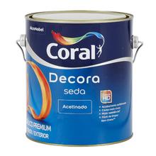 Tinta Acrílica Acetinada Acabamento de Seda Premium Gelo 3,6L Coral