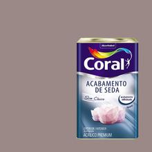 Tinta Acrílica Acetinada Acabamento de Seda Premium Rupestre 18L Coral