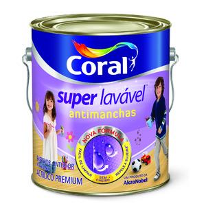 Tinta Acrílica Acetinada Premium  Branca Super Lavável 3,6L