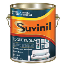 Tinta Acrílica Acetinada Premium Branco Toque Seda 3,6L