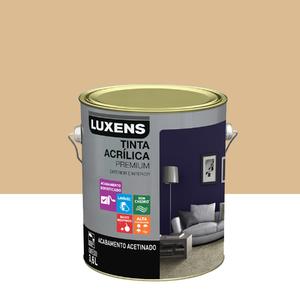 Tinta Acrílica Acetinado Premium Algodão Cru Natural 3,6L Luxens
