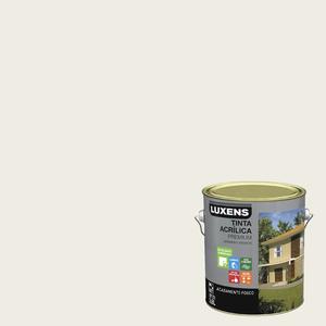 Tinta Acrílica Acetinado Premium Branco Antigo Colonial 3,6L Luxens