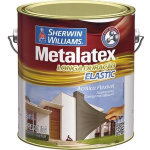 Tinta Acrílica Acetinado Metalatex Elastic 3,6L Verde Fortuna Sherwin Williams