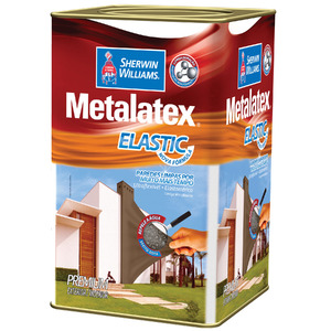 Tinta Acrílica Acetinado Premium Metalatex Elastic Branco 18L Sherwin Williams