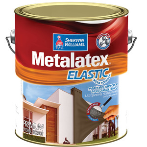Tinta Acrílica Acetinado Premium Metalatex Elastic Branco Gelo 3,6L Sherwin Williams
