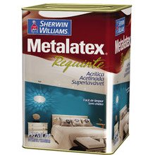 Tinta Acrílica Acetinado Premium Metalatex Requinte Superlavavel Branco 18 L Sherwin Williams