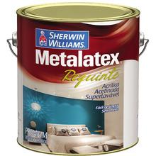 Tinta Acrílica Acetinado Premium Metalatex Requinte Superlavavel Branco 3,60 L Sherwin Williams