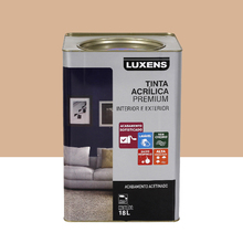 Tinta Acrílica Acetinado Premium Areia 18L Luxens