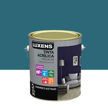 Tinta Acrílica Acetinado Premium Azul Artdeco 3,6L Luxens