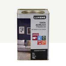 Tinta Acrílica Acetinado Premium Branco 18L Luxens
