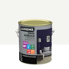 Tinta Acrílica Acetinado Premium Branco 3,6L Luxens