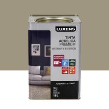 Tinta Acrílica Acetinado Premium Fendi Natural 18L Luxens