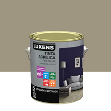 Tinta Acrílica Acetinado Premium Fendi Natural 3,6L Luxens