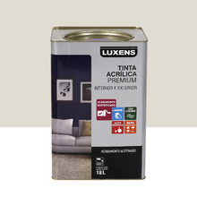 Tinta Acrílica Acetinado Premium Gelo 18L Luxens