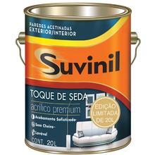 Tinta Acrílica Acetinado Premium Toque de Seda Branco 20L Suvinil