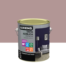 Tinta Acrílica Acetinado Premium Rosa Antigo Retrô 3,6L Luxens