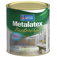 Tinta Acrílica Anti Mofo Acetinado Premium Metalatex Bacterkill Branco 0,90 L Sherwin Williams
