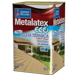 Tinta Acrílica Brilhante Premium Metalatex Eco Telha Térmica Cinza 18 L Sherwin Williams