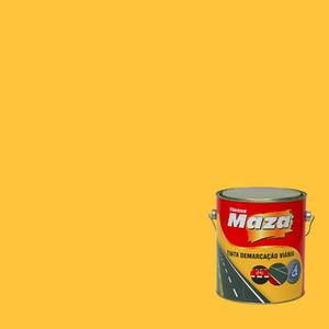 Tinta Acrílica Demarcação Viária Amarelo 3,6L Maza