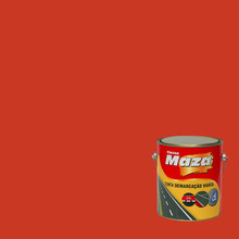Tinta Acrílica Demarcação Viária Vermelho 3,6L Maza