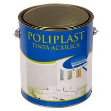 Tinta acrílica Econômico 3,6L Branco Poliplast