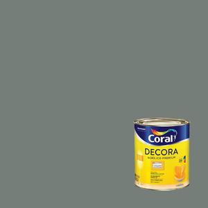 Tinta Acrílica Fosca  Premium Decora Cimento Queimado 3,6L Coral