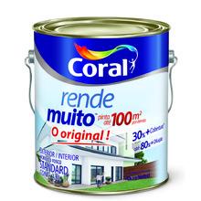 Tinta Acrílica Fosca Standard Areia Rende Muito 3,6L