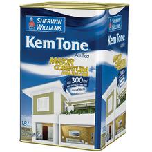 Tinta Acrílica Econômica Fosca Kem Tone Lata 18L Branca
