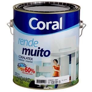 Tinta Acrílica Fosca Standard Oceano Rende Muito 3,6L