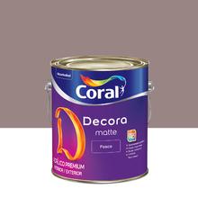 Tinta Acrílica Fosca Premium Decora Adorno Rupestre 3,6L Coral